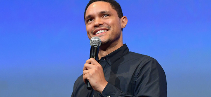 BURBANK, CA - OCTOBER 13: Trevor Noah performs onstage at the Barbara Berlanti Heroes Gala Benefitting FCancer at Warner Bros. Studios on October 13, 2018 in Burbank, California. (Photo by Emma McIntyre/Getty Images for FCancer)