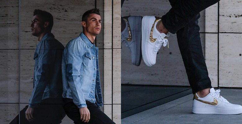 "Patentar Aburrido Alcalde  Sneaker Of The Week: NIKE AIR FORCE 1 CR7 ""GOLDEN PATCHWORK"" – NoJokesComedy"